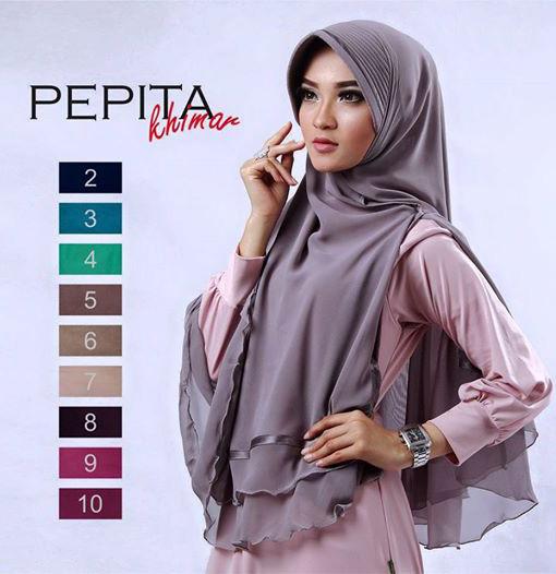 043 HijabJilbab Khimar Pepita 1