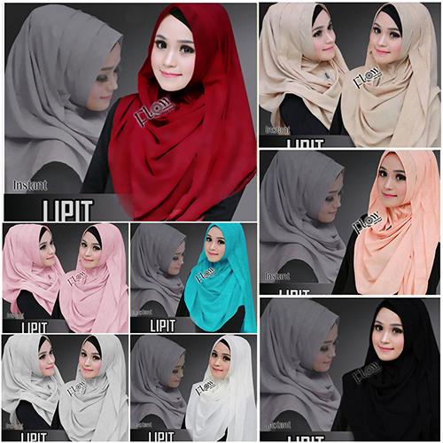 Hijab Instan Lipit