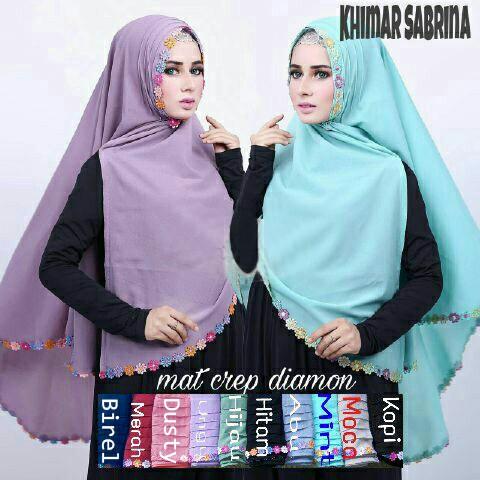 HijabJilbab Khimar Sabrina