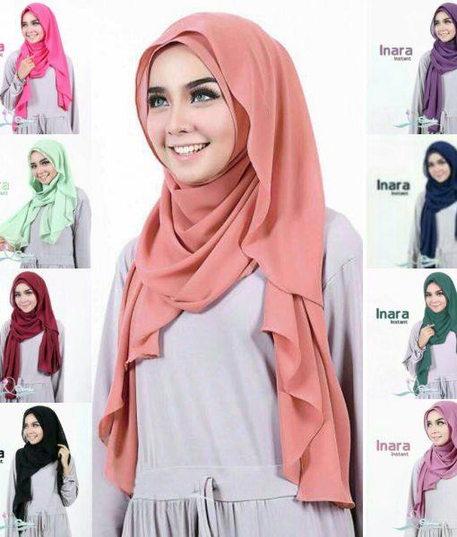 Jilbab Inara Instant