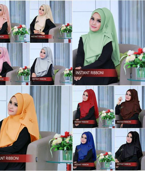 Jilbab Instant Ribboni