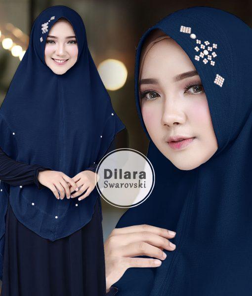Hijab Khimar Dilara Swarovski