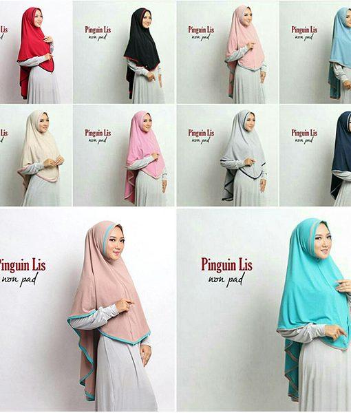 Hijab Pinguin Lis Nonpad