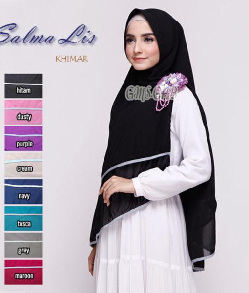 Hijab Khimar Salma Lis