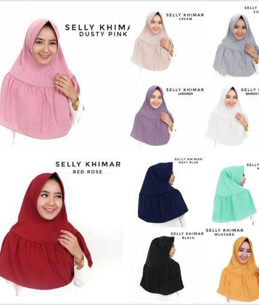 Hijab Jilbab Selly Khimar