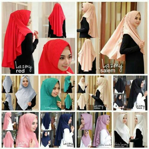 Hijab Khimar Lazmy