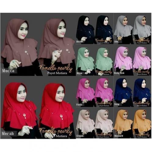 Hijab Famella Pearly