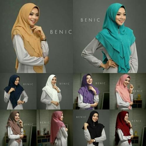 Hijab Khimar Benic