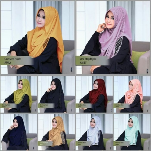 One Step Hijab Amily
