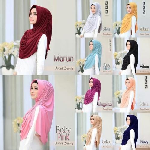 Hijab Instant Dravery