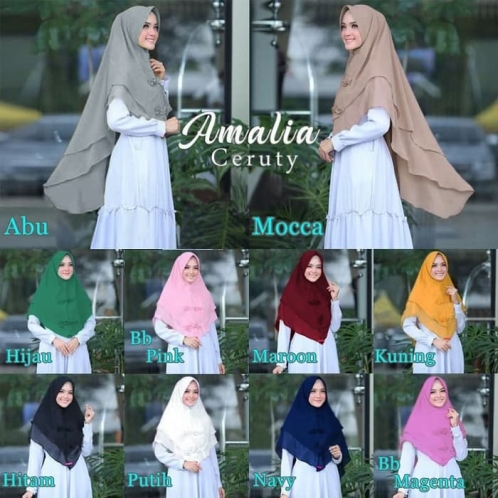 Hijab Khimar Amalia