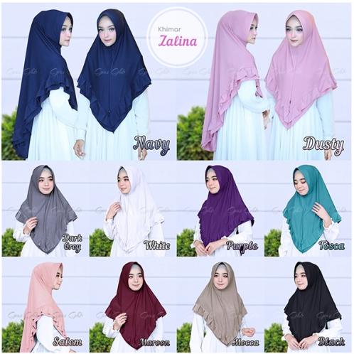 Hijab Khimar Zalina