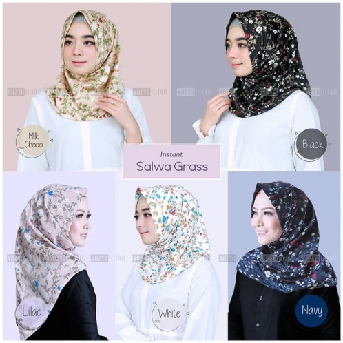 Hijab Instant Salwa Grass