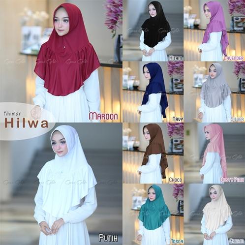 Hijab Khimar Hilwa