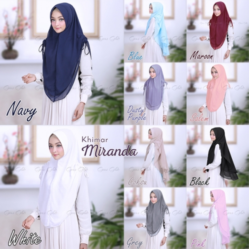 Hijab Khimar Miranda