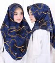 Hijab Minipad LV Rantai 3