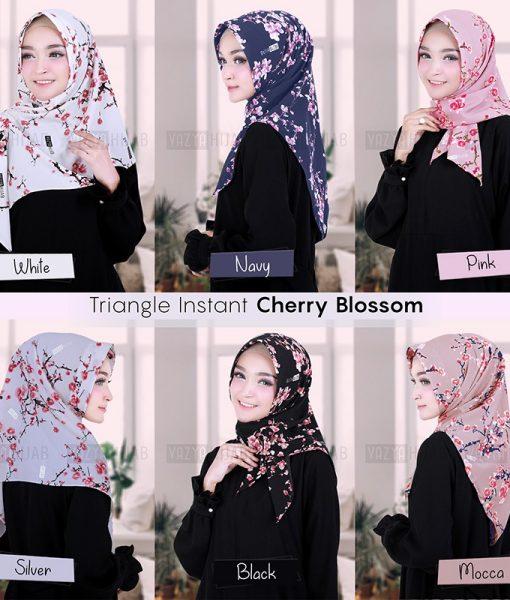 Triangle Segitiga Instant Cherry Blossom