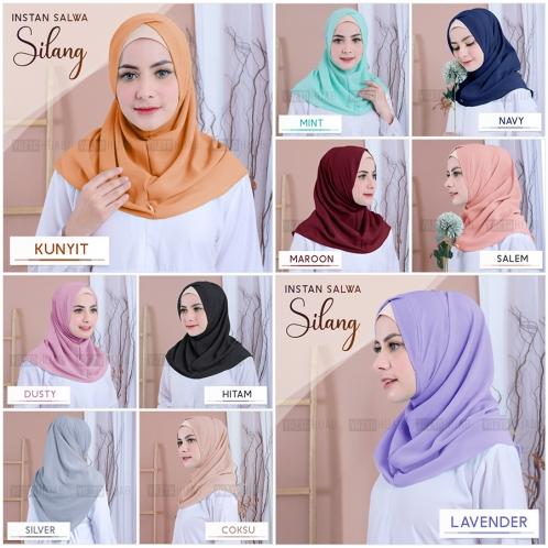 Hijab Instant Salwa Silang