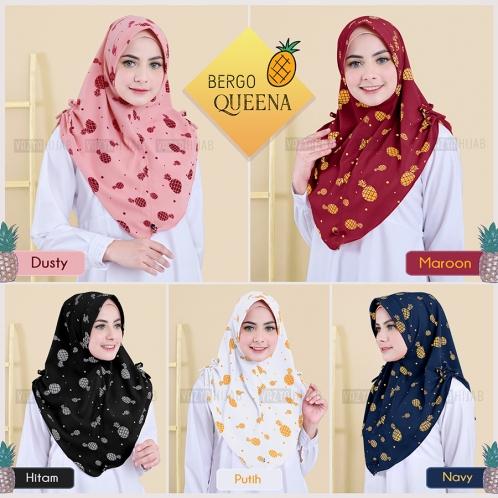 Hijab Bergo Queena