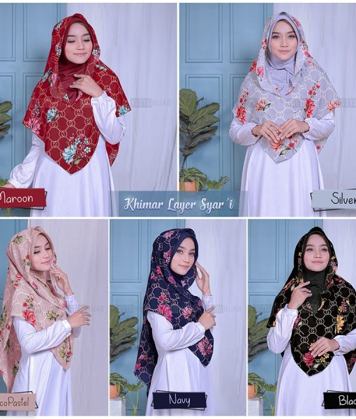 Khimar Layer Syari