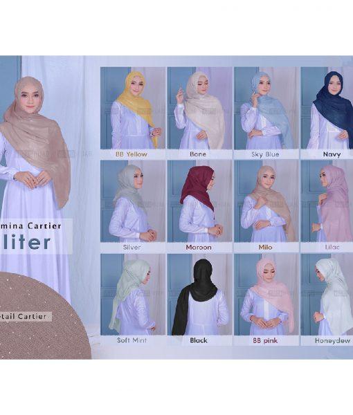 Pashmina Cartier Glitter 180×75 1