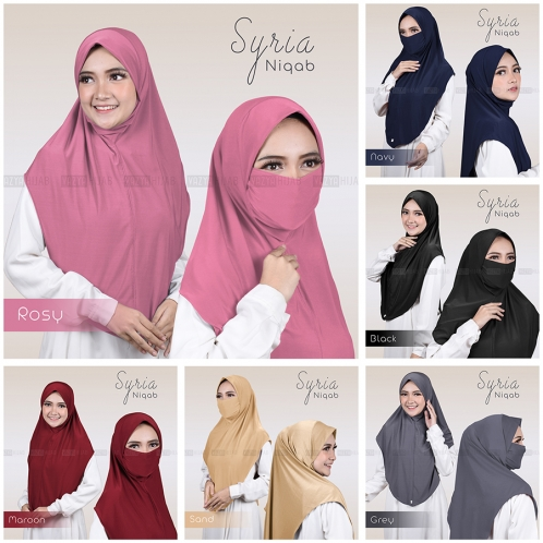 Malaya Niqab 2in1