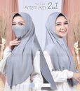 Hijab Cadar Antem Azni 2in1 8