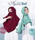 Hijab Khimar Cadar Ayana 3in1 2