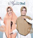 Hijab Khimar Cadar Ayana 3in1 4