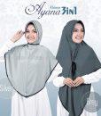Hijab Khimar Cadar Ayana 3in1 5