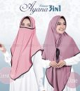 Hijab Khimar Cadar Ayana 3in1 6