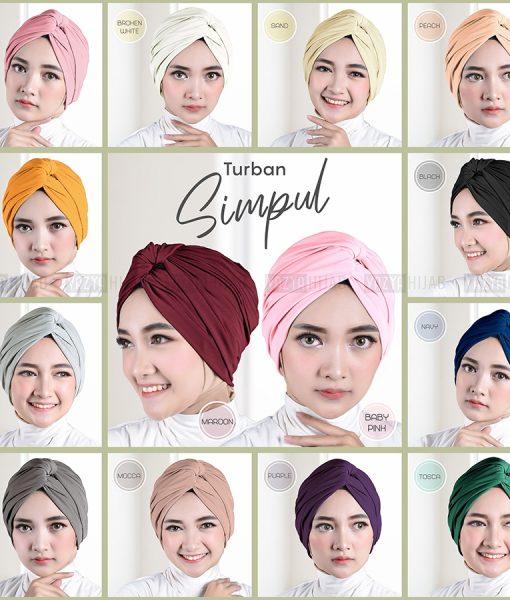 Turban Simpul Jersey Super