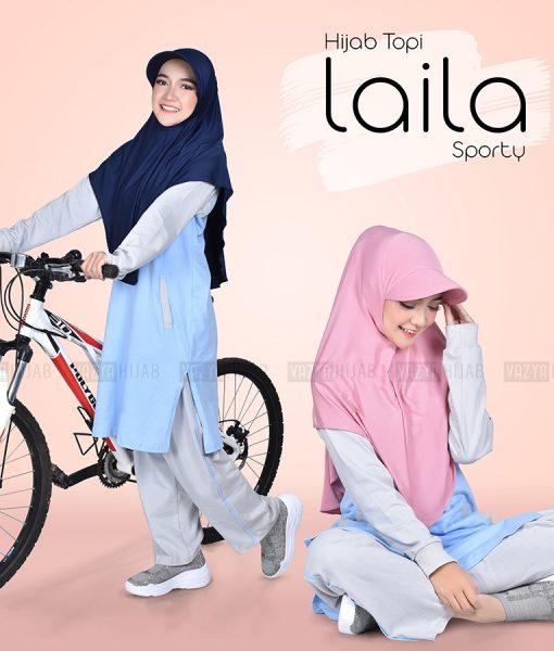Hijab Topi Laila Sporty 2