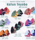 Masker Kain Katun Toyobo Ceruti 2 Tone 3 Ply 1