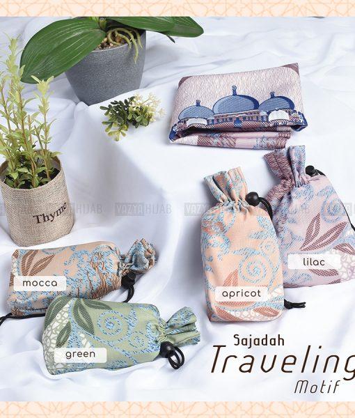 Sajadah Travel Pouch Motif