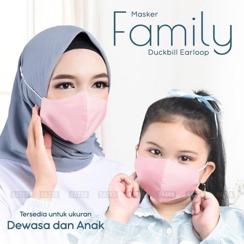 Masker Dewasa Family Duckbill Earloop Anti Pengap