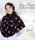 Bergo Maryam Motif Bunga Syari 5