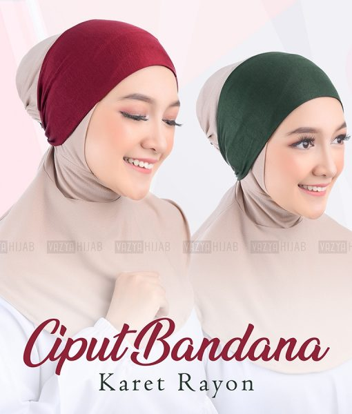 Ciput Bandana Karet Rayon