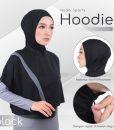 Hijab Sporty Hoodie Dryfit 2 Tone 1