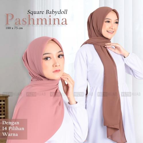 Pashmina Square Babydoll 180cm x 75cm-ghb