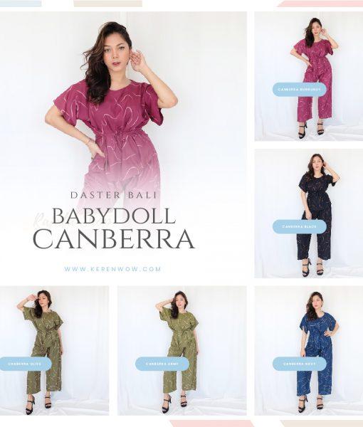Collage – Daster Bali Babydoll Canberra – kolase
